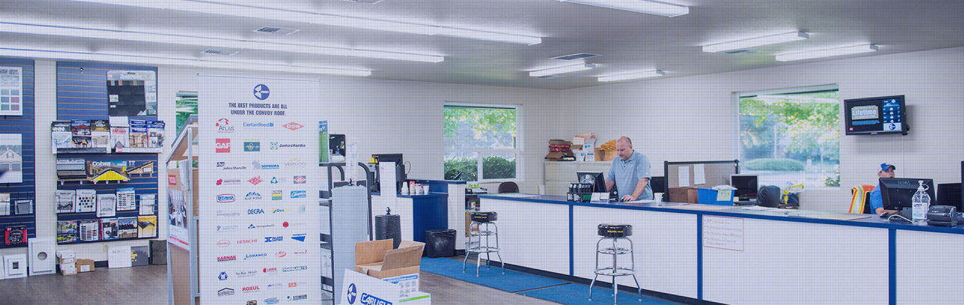 A busy Convoy Supply show room