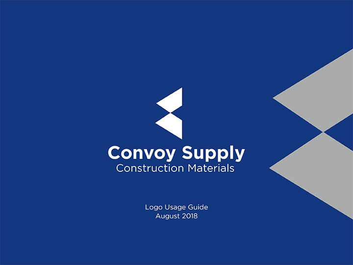 The Convoy Supply Logo Usage Guide Cover