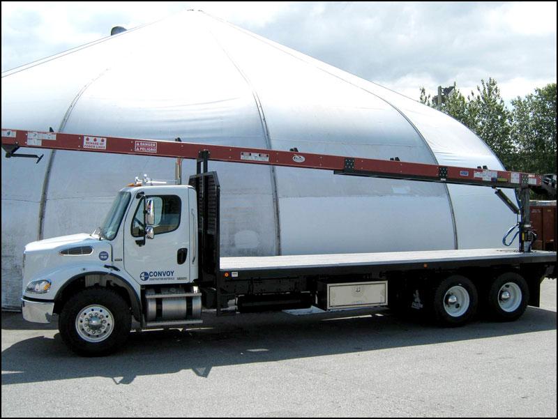Our Fleet Convoy Supply Building Materials Distributor