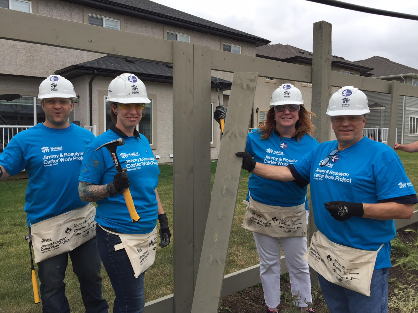 Convoy Joins Habitat For Humanity The Carter Work Project