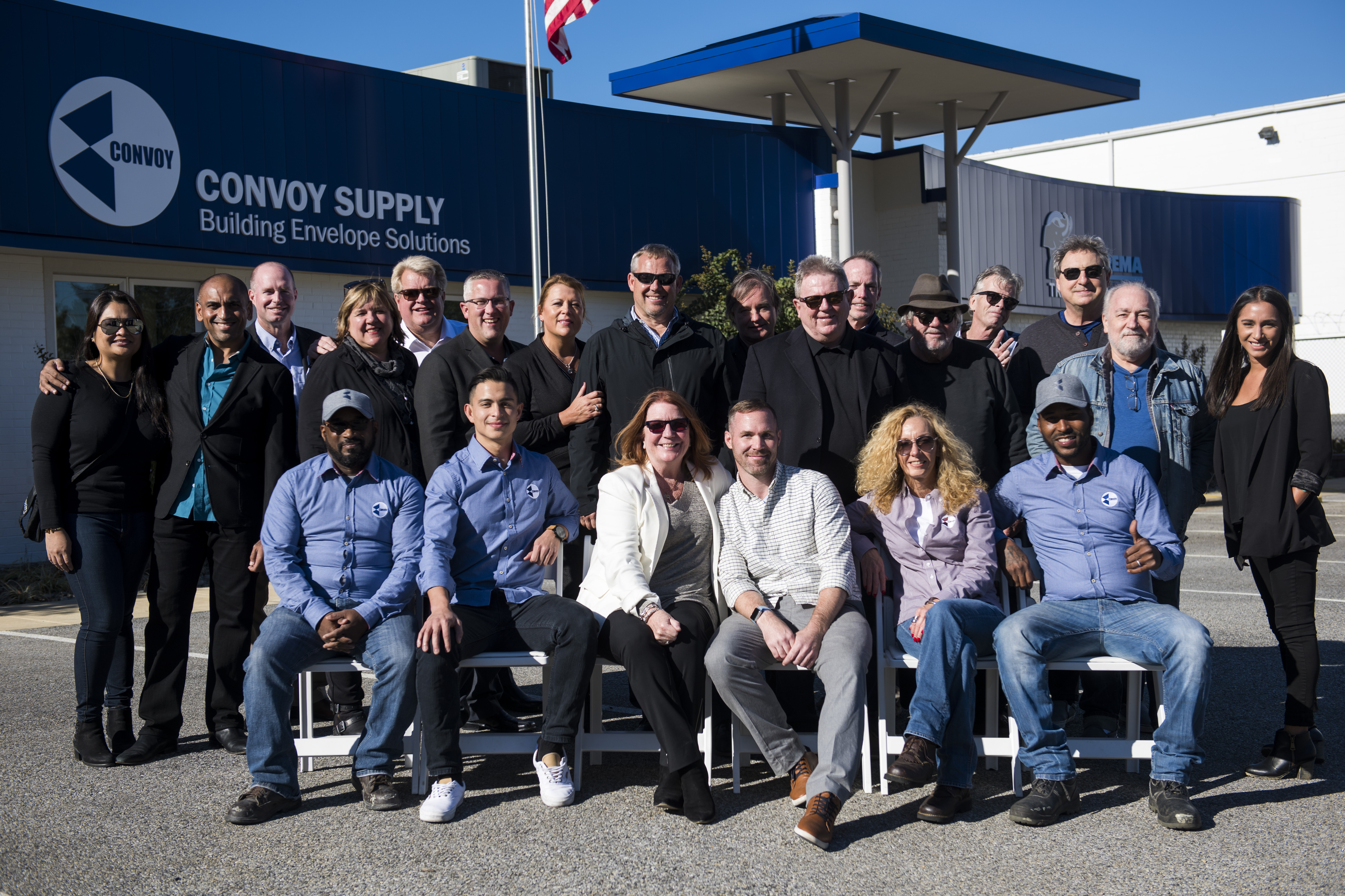 Team Convoy, BEST Group, and guests
