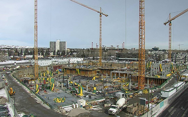 Calgary Cancer Centre - Building Envelope Case Study - The building site
