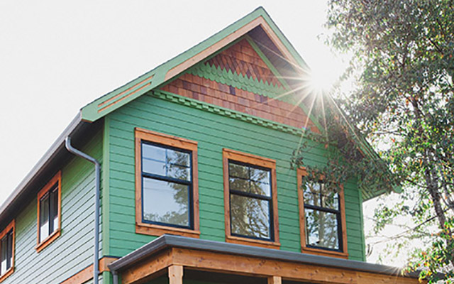 James Hardie Building Envelope Case Study - House with new siding