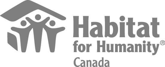 The logo for Habitat for Humanity Canada