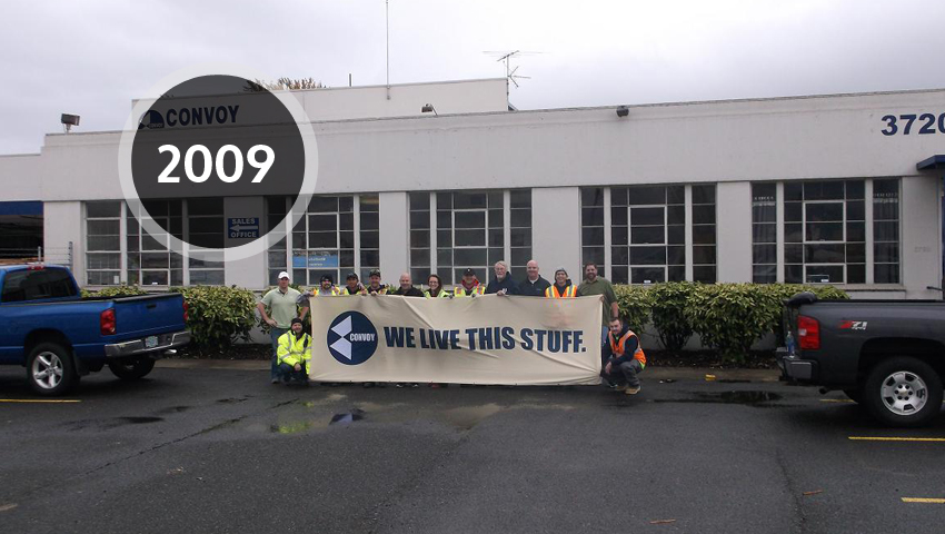 Our History Convoy Supply Building Materials Distributor