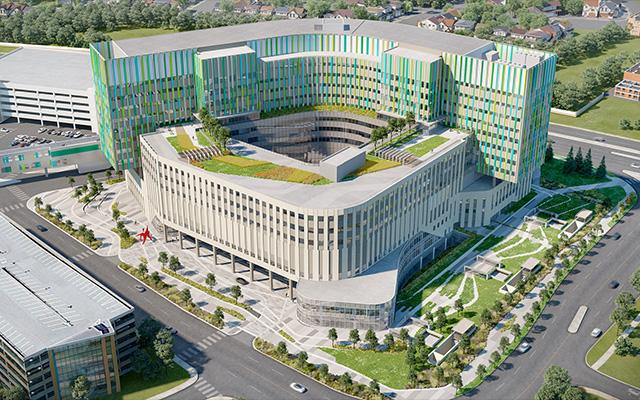 Calgary Cancer Centre - Artist Rendering-640x400