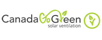 Canada Go Green Solar Ventilation roofing accessories logo