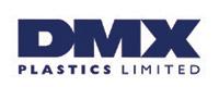 Logo for DMX Plastics, a waterproofing company